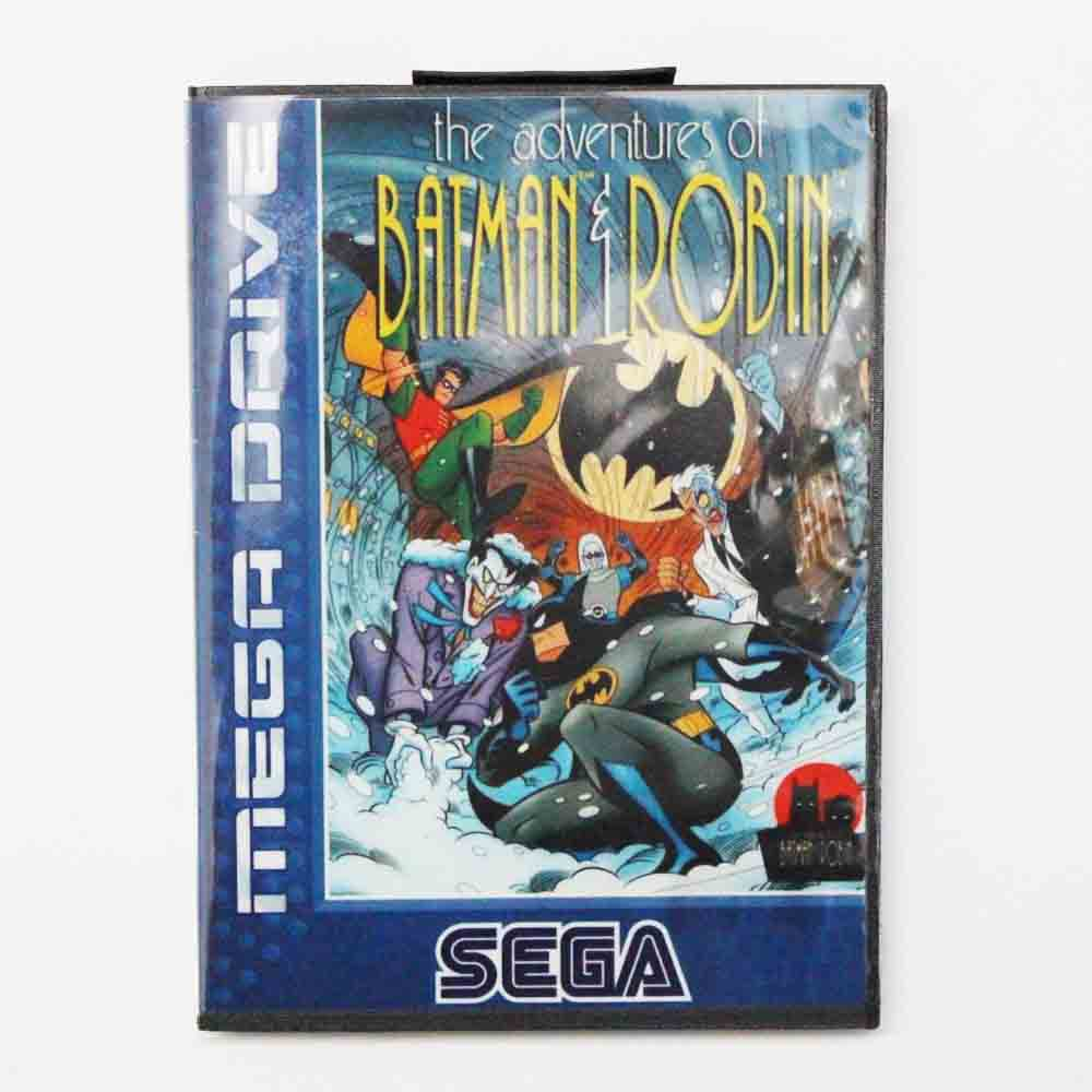 The Adventures Of Batman And Robin Game Cartridge 16 bit MD Game Card With Retail Box For Sega Mega Drive