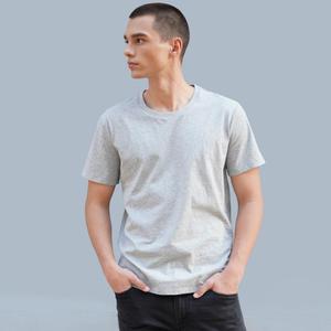 Image 5 - لحظة لي رجل قصير كم القطن 100% القطن بسيط و تنوعا مريحة تنفس الذكور ملابس الصيف