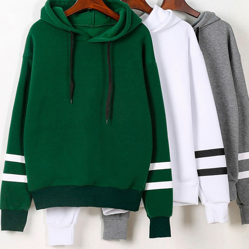 Women's  Casual Long Sleeve Hooded Pullover Plus Size Sweatshirts 2019 Autumn Winner Woman Hoodies Sportswear Female Tops