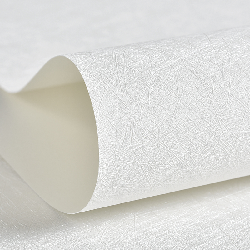Modern Solid Color Silk Wallpapers Home Decor Creamy White Grey Plain Wall Paper Roll Decorative for