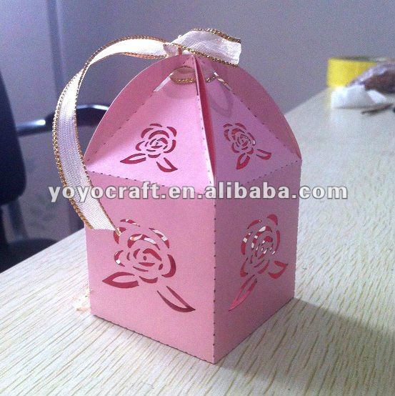 2012 Hot Sale Wedding Favor Laser Cut Wedding Invitation Halloween