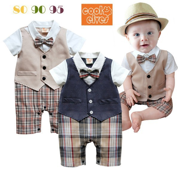 2015 New Autumn Handsome Infant boy Suit London Style Baby Boy ...