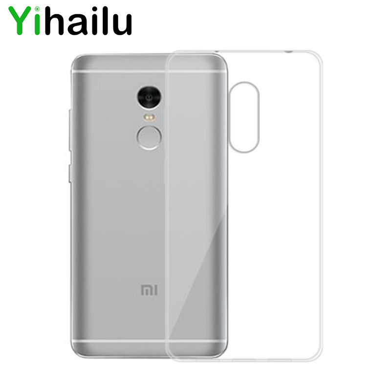 For Xiaomi Redmi <font><b>Note</b></font> <font><b>4</b></font> <font><b>Case</b></font> Cover Soft TPU Back Cover For Xiaomi Redmi <font><b>Note</b></font> <font><b>4</b></font> Note4 Transparent Silicone Ultra Thin <font><b>Cases</b></font>