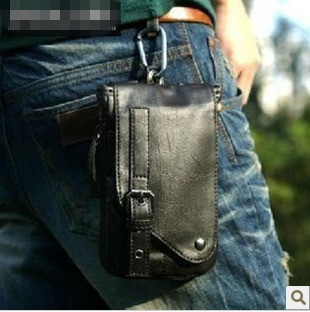 New Fashion Movement pockets Men's Waist bags Small Shoulder Bags Multi-packet