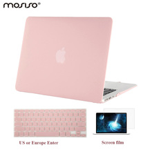 лучшая цена MOSISO Mac 3 in 1 Air 13 Inch Plastic Hard Case Cover For Macbook Air 13.3