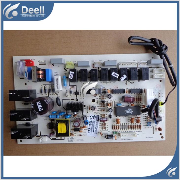 ФОТО 95% new good working for air conditioner motherboard KFR-120LW/ND/N3+3 PCB board control board on sale