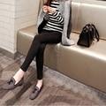 Maternity Clothes Pants Black Plus Velvet Elastic Pregnant Women Pencil Trousers Maternity Clothes 3xl Trousers Women Big Size
