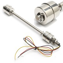 1PC 200mm Liquid Float Switch Water Level Sensor Stainless Steel Double Ball Sensors font b Electronic