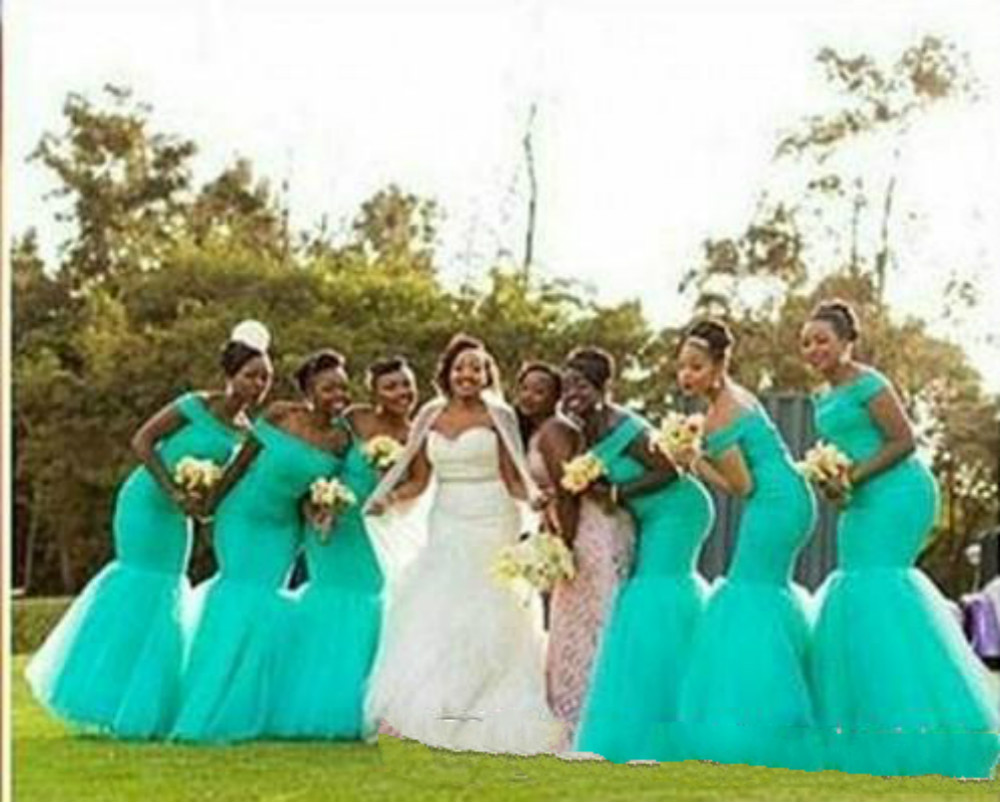 Hot South Africa Style Bridesmaid Dresses Plus Size Mermaid ...