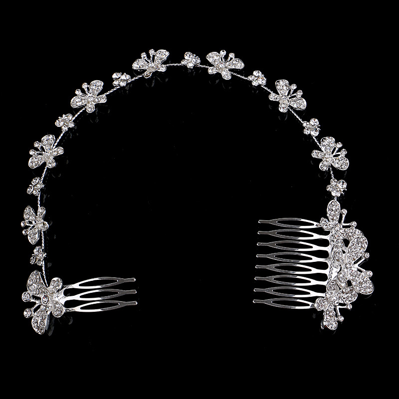 popular butterfly hair pieces buy cheap butterfly hair pieces lots