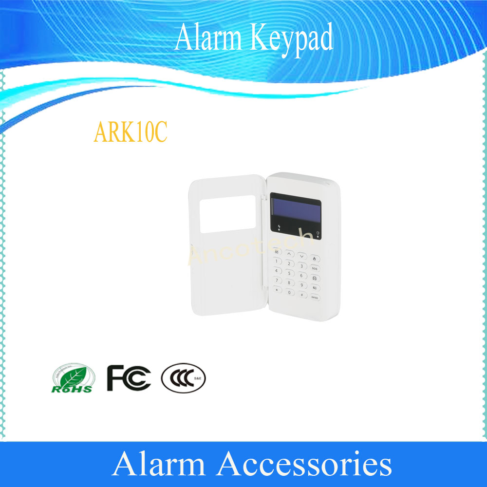 Free Shipping DAHUA Security Alarm System Wired Alarm Keypad DHI-ARK10CFree Shipping DAHUA Security Alarm System Wired Alarm Keypad DHI-ARK10C