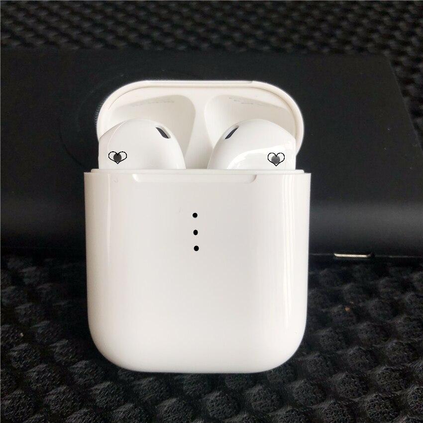 Nouveau 1:1 taille 2nd generat sans fil écouteur bluetooth casque soutien charge sans fil avec puce W1 H1 puce PK i12 i15 i20 i10