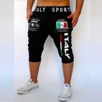Men's Casual Leisure shorts Digital Letter print joggeres harem shorts men's fashion masculina de marca hombre bermuda Shorts