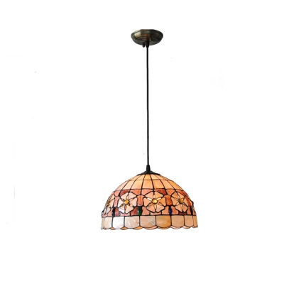 Pendant Light Fixtures Art Nordic Lustre Hanging Shell Patch Lamp Shade