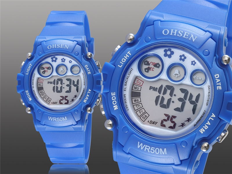 New Ohsen Unisex Watch Fashion Casual Watches Relogio Masculino Students Sports For Men Women Water Resistant Alarm Wristwatches (16)