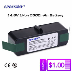 5300mAh 14.8V Li-ion Battery for iRobot Roomba 500 600 700 800 Series 510 530 550 560 580 620 630 650 760 770 775 780 870 880 R3