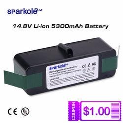 5300mAh 14.8V Li-ion Battery for iRobot Roomba 500 600 700 800 Series 510 530 550 560 580 620 630 650 760 770 775 780 870 880 R3