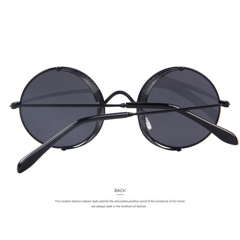 c5461681b0 MERRY S Fashion Women Sunglasses Classic Round Steampunk Shades Brand  Designer Men Sun glasses UV400-in Sunglasses from Apparel Accessories on ...