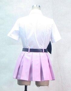 Image 5 - S 3XL peut être personnalisé Anime Ao pas exorciste Cosplay homme femme Halloween Cos Shiemi Moriyama école uniforme Cosplay Costume