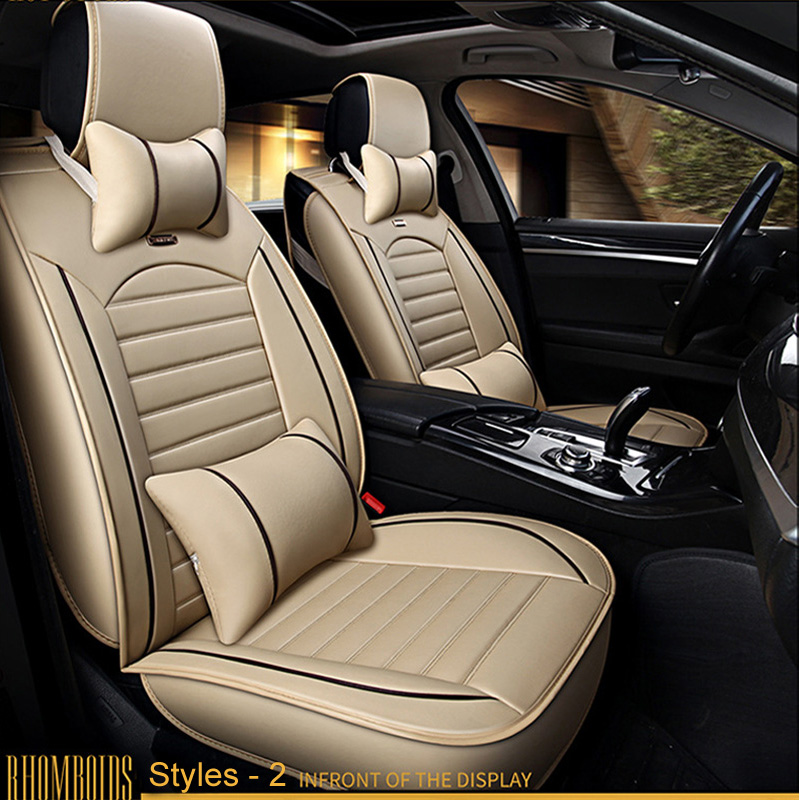 LUNDA Car-Seat-Covers Forpeugeot Universal Auto New 407 408 205 207 206 3008 406 607