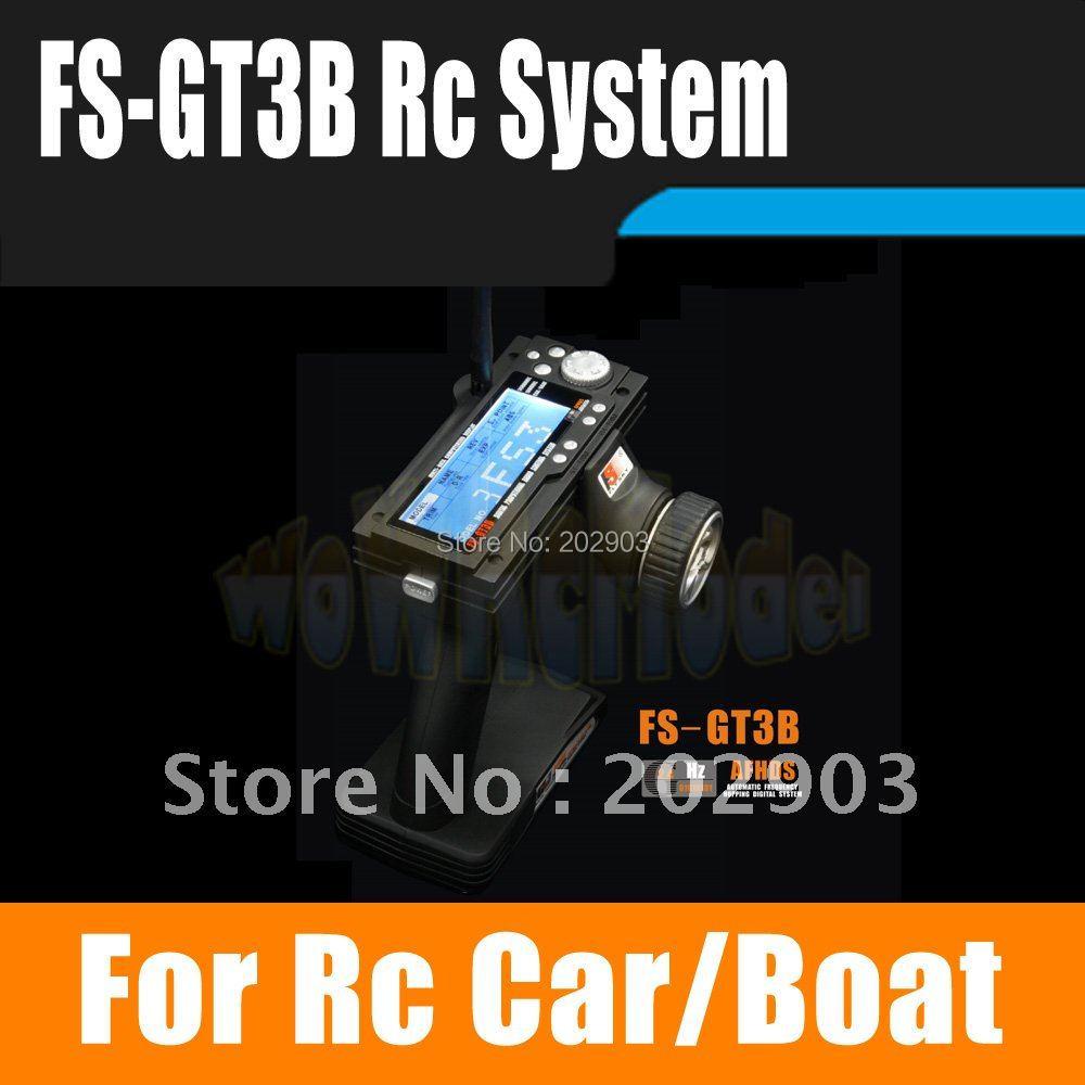 Flysky FS GT3B FS GT3B 2 4G 3CH Gun RC System Transmitter with Receiver For RC