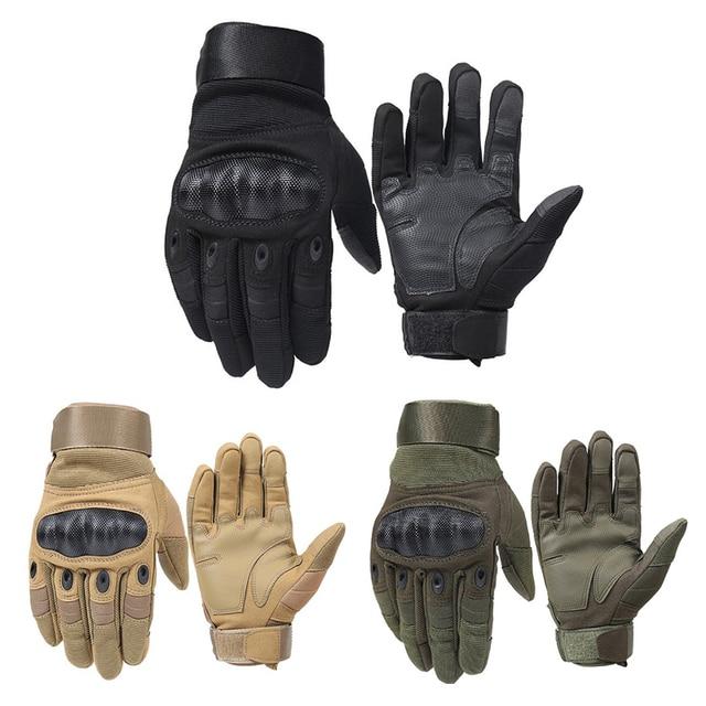 1 par Luvas Da Motocicleta Respirável Unisex Luva de Dedo de Luva Cheia Moda Ao Ar Livre Esporte de Corrida de Motocross Luvas de Protecção