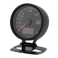 Universal 62mm/2.5in 7 Light Colors LCD Display Car Auto Turbo Boost Gauge Car Tuning Instrument Turbine Strap Digital Display