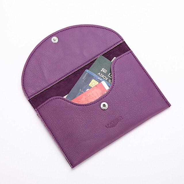 Seonyu wallet women passport wallet document holder business card seonyu wallet women passport wallet document holder business card case make up organizer travelling passport covers colourmoves Images