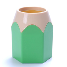 Popular Creative Pen Vase Pencil Pot Makeup Brush Holder Stationery Desk Tidy New Design Container Gift Free Shipping