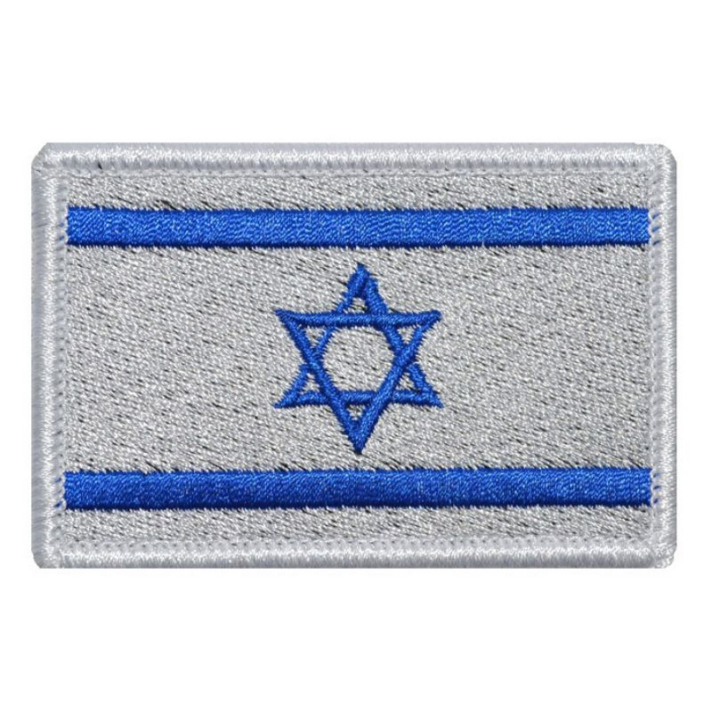 Arts,crafts & Sewing Home & Garden New Fashion Israel Flag Star Wars Military Tactical Embroidery Army Morale Badge Armband 10 Style