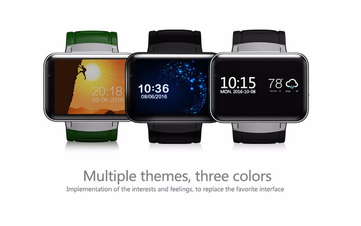 2.2-Display- 320240-LED-DM98-Smart-Watch-Android 5.1- MTK6572A-Dual-core -1.2G -900Mah -Camera-WIFI-3G-QQ-GPS-App-For-Smartphone (15)