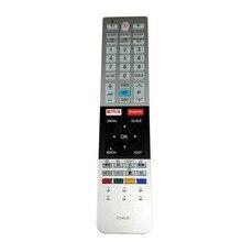 CT 8536 الأصلي الجديد لجهاز التحكم عن بعد صوت توشيبا التلفزيون