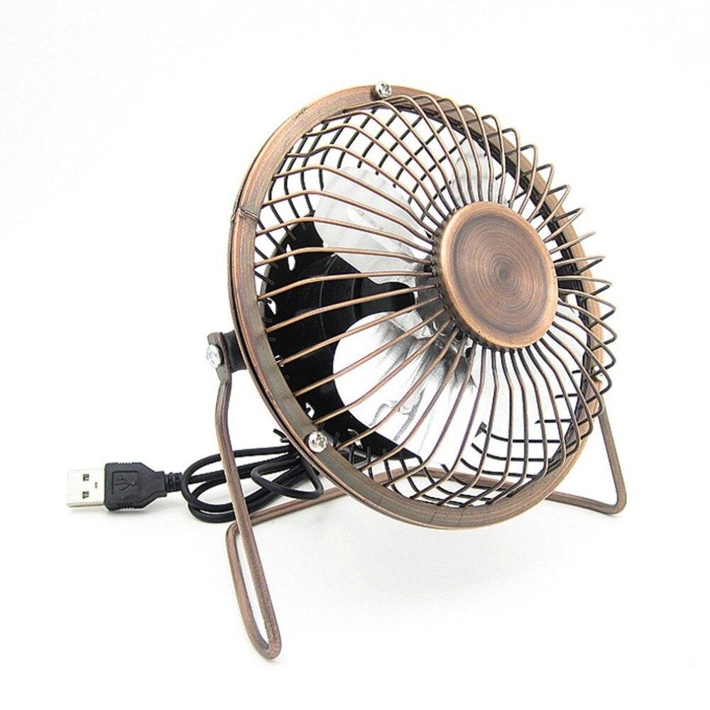 Portable 4 Inch USB Cooling Fan Small 4 Blades Desk USB Cooler Super Mute Silent font