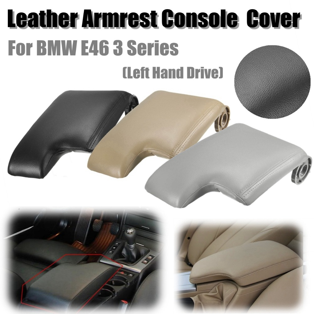 New Leather Armrest Cover w/ Plastic Plate for BMW E46 3 Series 1999-2005 Left Hand Drive Black/Grey/Beige знаток хрен домашний 160 г