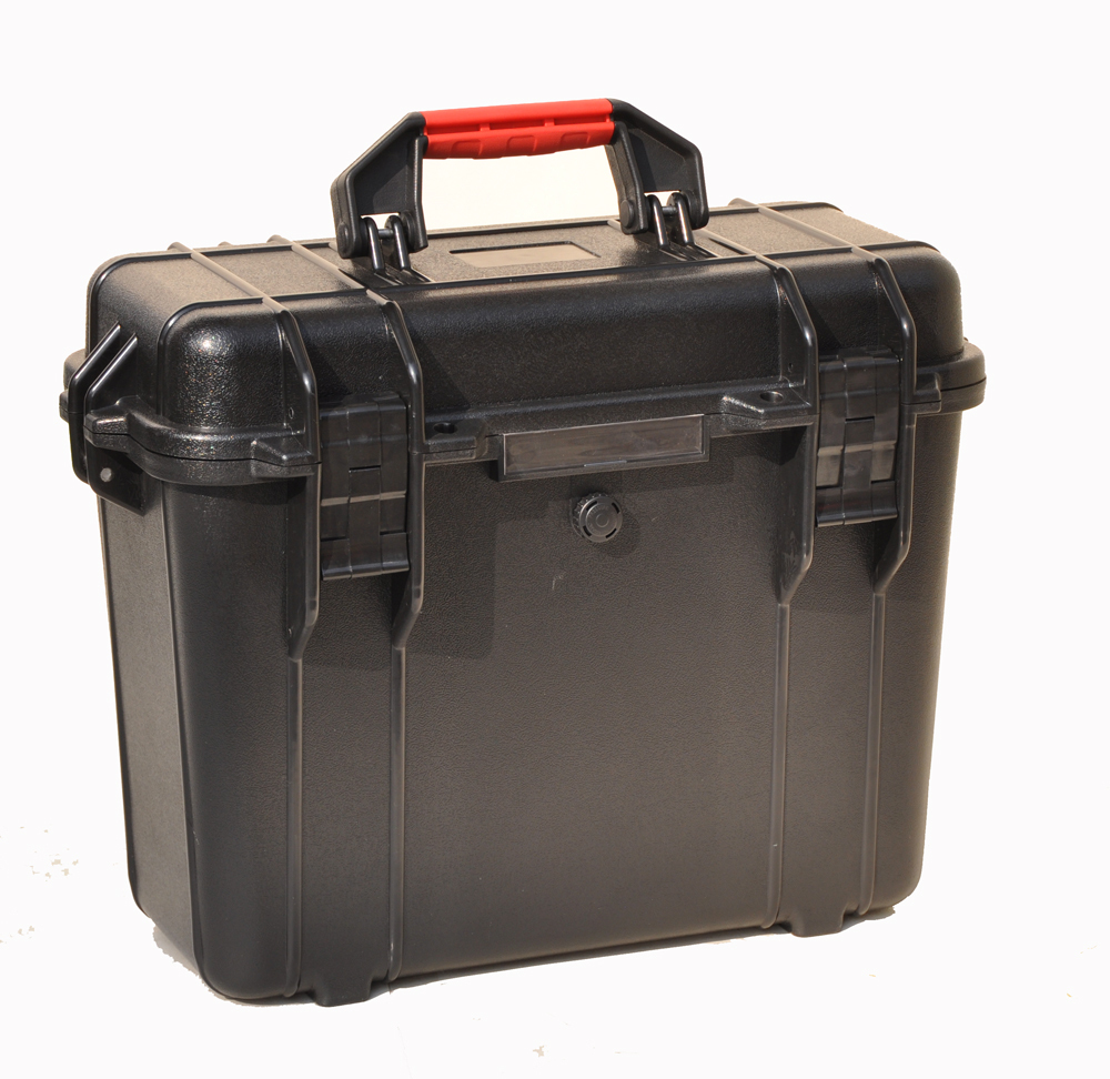 Impact resistant sealed waterproof safety case 365x165x301mm tool equipmenst encosure box with  Foma Rohs approved 45-30 abhaya kumar naik socio economic impact of industrialisation
