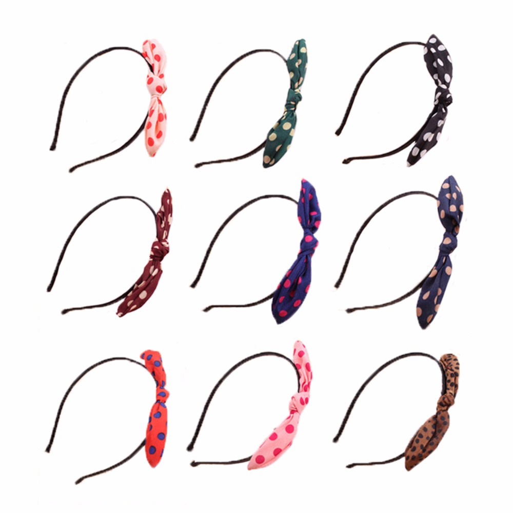 Fashion Flower Hairband Bowknot Girls Hair Accessories Bow Hair Bands For Women Headband