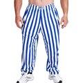Homens Calças Largas Sportwear profissional de Fitness Musculação Treino Solto Casual Calças de Lycra de Algodão Tubarão Corredores