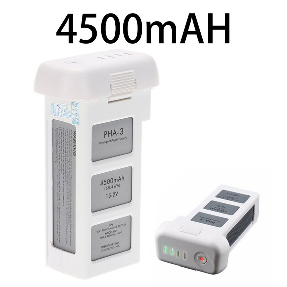15.2V 4500mAh Standard Intelligent LiPo Battery High Capacity Drone Battery For DJI Phantom 3 Standard Professional Advanced high quality hot lipo 15 2v 4500mah rechargeable battery for dji phantom 3 professional akku free shipping