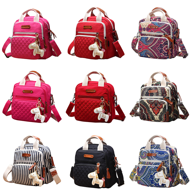 Multifunctional Diaper Bag Backpack 8 Colors