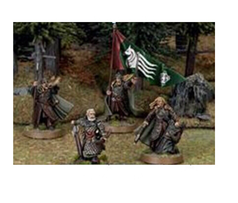 Lord of the Rings Rohan Commanders not include the Archer Free Shipping metal Material Figure metal kit       DIY TOYS