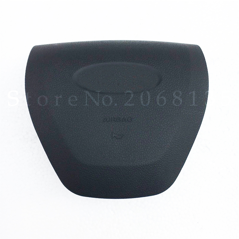 High Quality NEW Driver Airbag Cover For Ford Explorer Flex Edge Everest SRS Steering Wheel Airbag Air Bag Cover (With Logo)  high quality new driver side airbag cover for glk w204 glk300 glk350 airbag cover dab cover with logo
