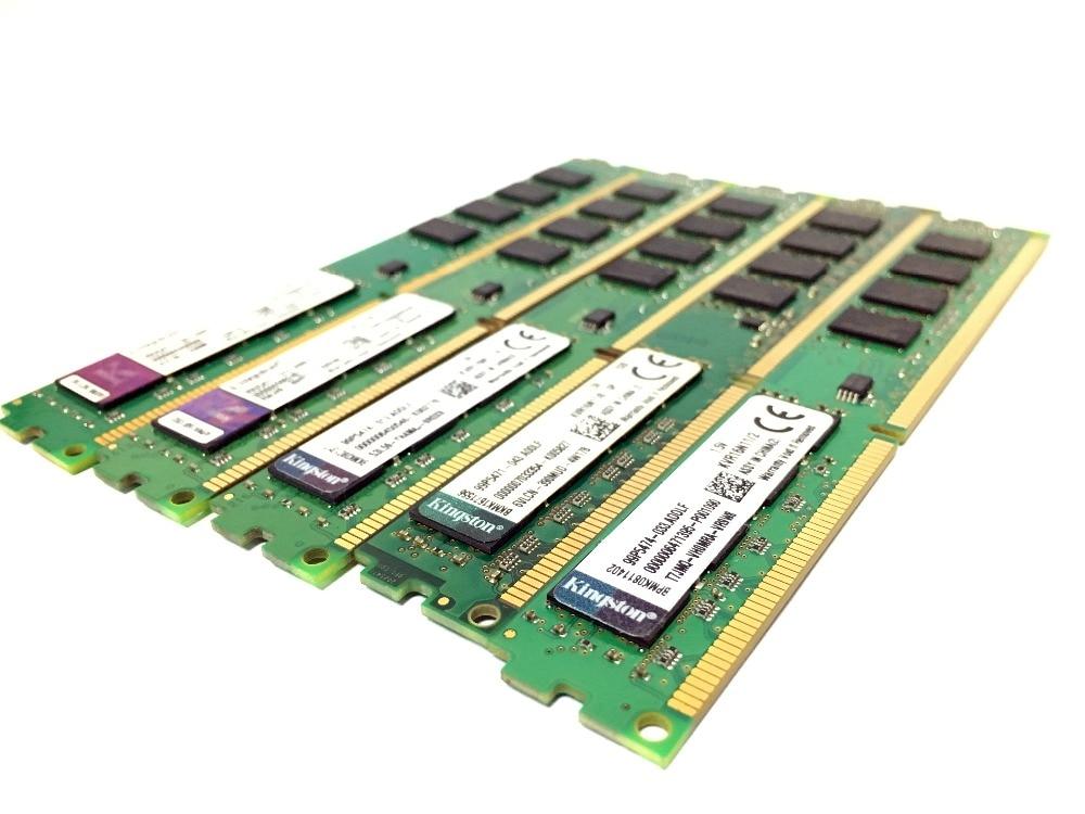 Kingston PC Memory RAM Memoria Module Desktop DDR2 DDR3 1GB 2GB 4GB 8GB PC2 PC3 667mhz  800mhz 800 1333 1600 1600mhz 1333mhz 8g 5