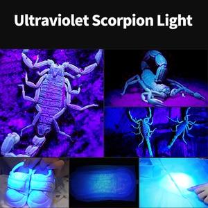 Image 4 - SHENYU lampe de poche étanche Scorpion T6 avec zoom lampe LED fluorescente et 26650 nm