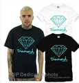 Diamond Tshirts Hip Hop Fashion Tee Shirts Men Women Diamond Supply Co T Shirts Plus Size S-3XL Short Sleeve  Hip Hop