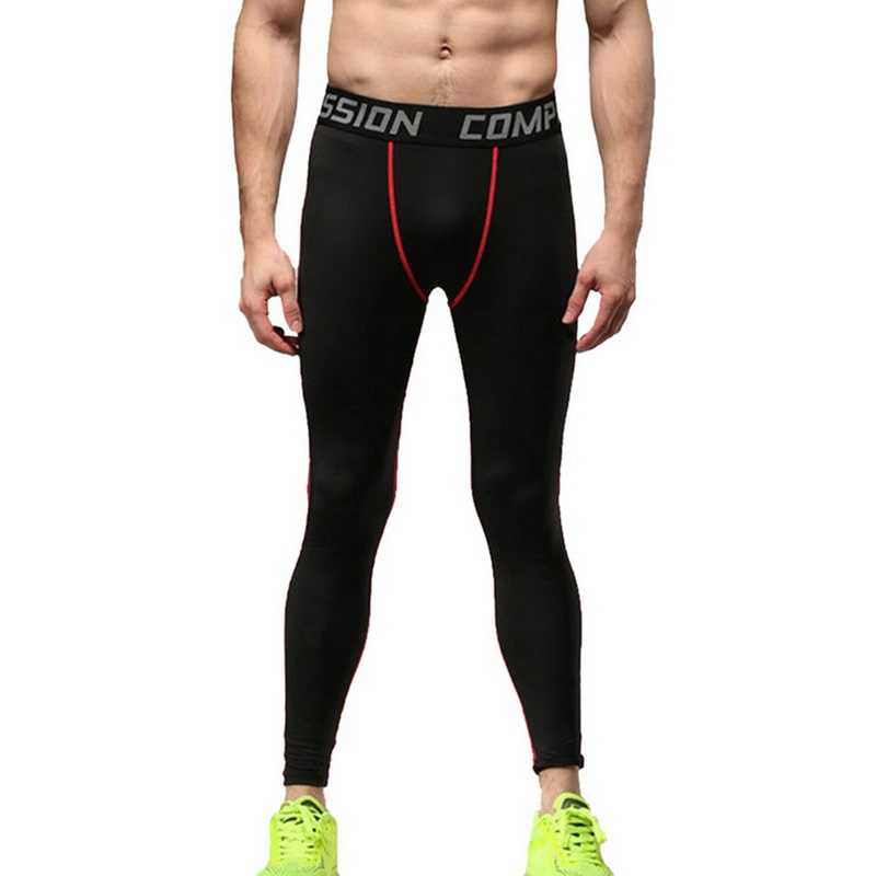 NIBESSER Trousers Pants Men Tights Fitness Bodybuilding Sportswear Leggings Quick-Drying title=