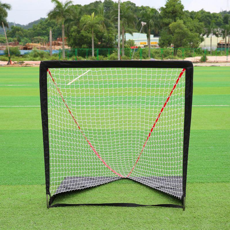 6*6 Activities Hockey Soccer Training Net Outdoor Sport Convenient Ball Steel Goal Field Hockey Training 2017 New Arrival ld7530pl ld7530 sot23 6