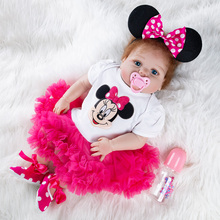 New Lol Dolls Cute Bebe Reborn Soft Dolls Surprise Gift For Baby Full Silicone High Quality Babies Toddler Doll boys baby reborn silicone dolls 22inch bebe rebron dolls with cute clothes set ydk 12r2 dolls lol tsum tsum toys for children