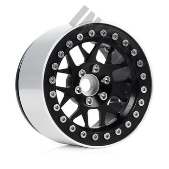 INJORA 4PCS CNC Aluminum 2.2 Beadlock Wheel Rim for 1/10 RC Crawler Car Axial SCX10 RR10 Wraith Traxxas TRX4 TRX-6 2
