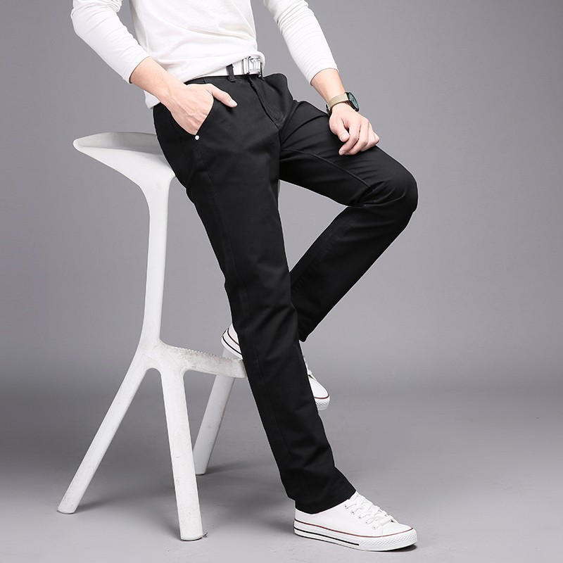 49975ee9884dbe top 8 most popular men black casual pants list and get free shipping ...