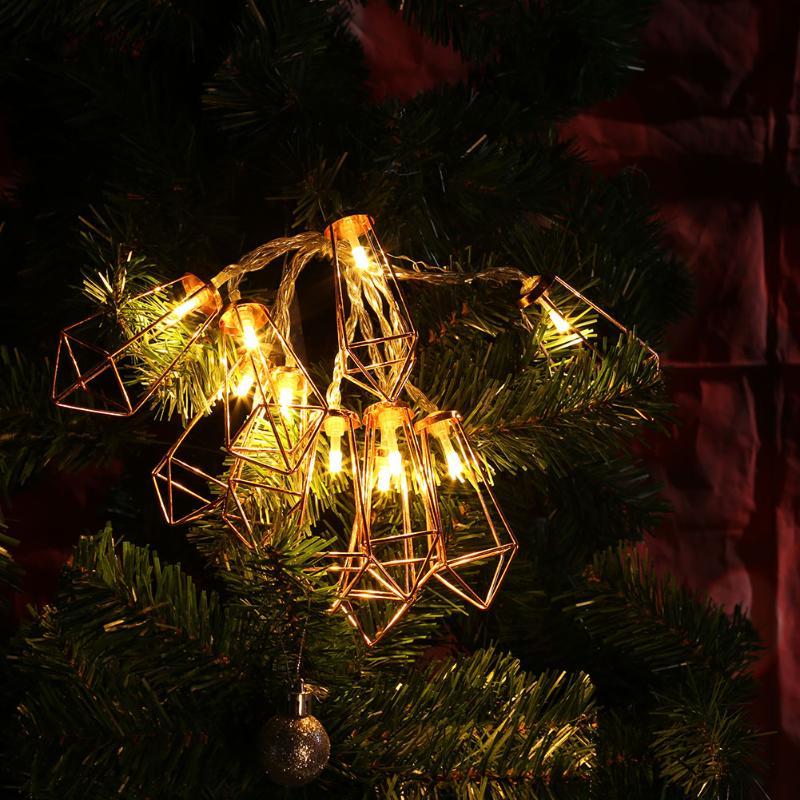 Капли воды Гирлянды светодиодные свет теплый белый свет фея праздник света для партии Рождество Свадебные украшения Батарея работает ...